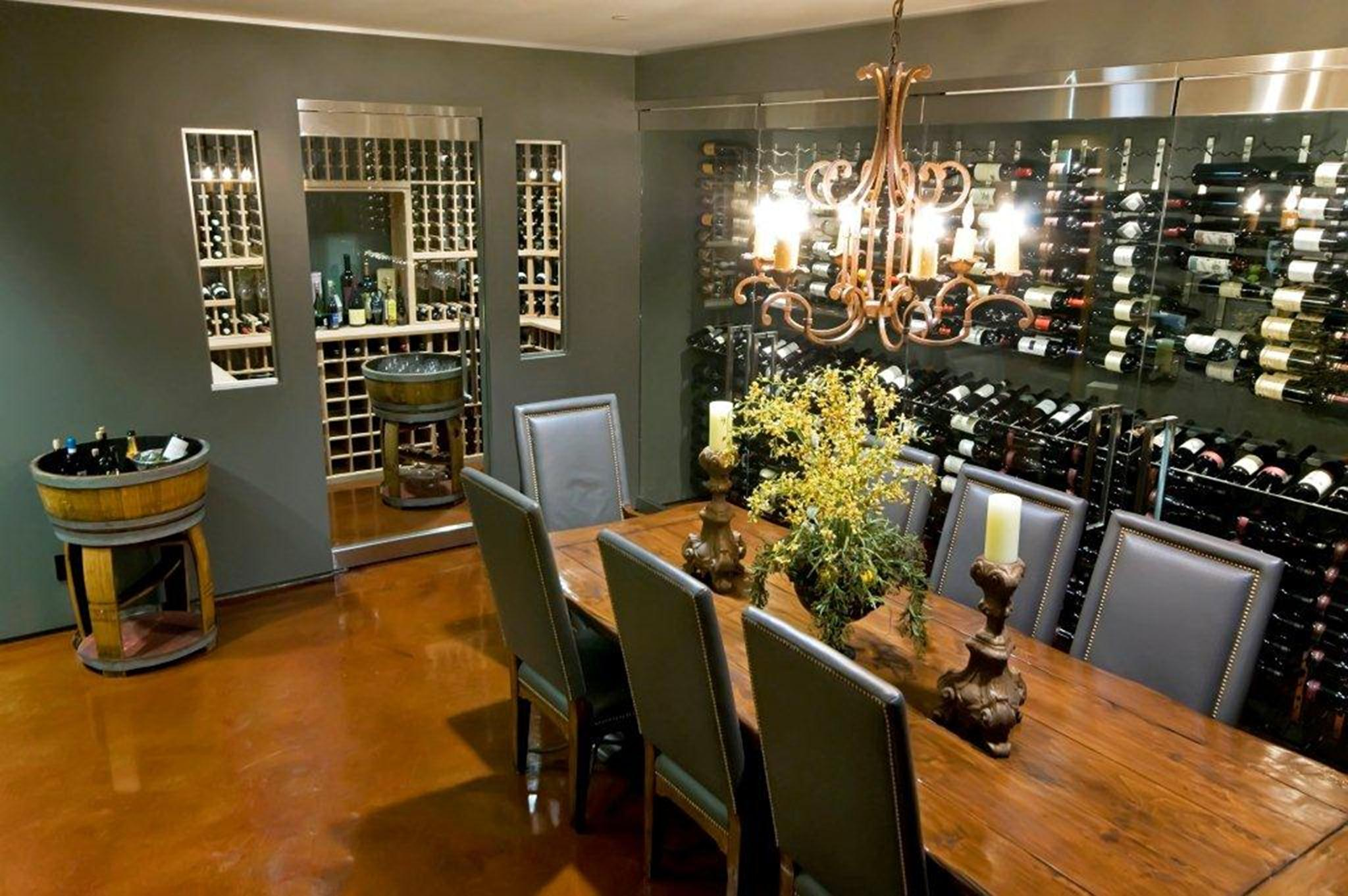Wine Room Steel Racking