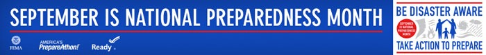 September Is National Preparedness Month – How To Get Involved