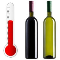 Temperature of wine