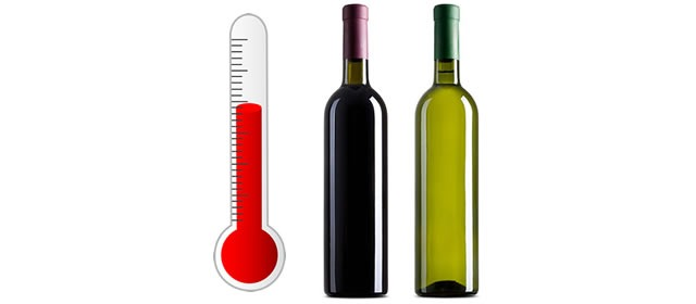 Temperature Table for Serving Wine: