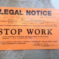 stop work legal notice