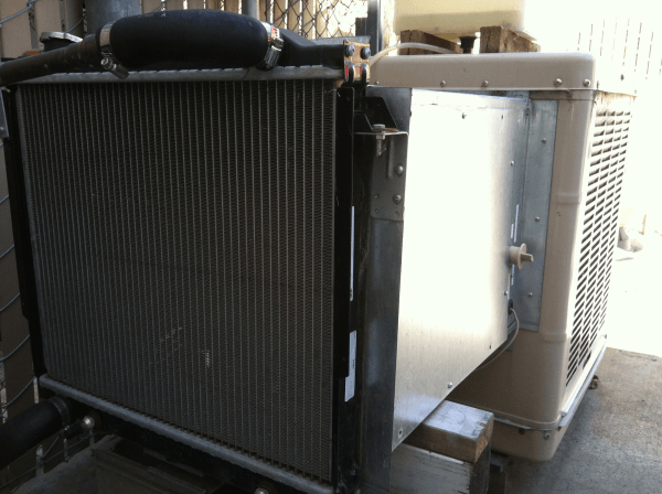 New Use For Swamp Cooler – as a Chilled Water Loop