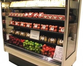 refrigeration system in grocery store