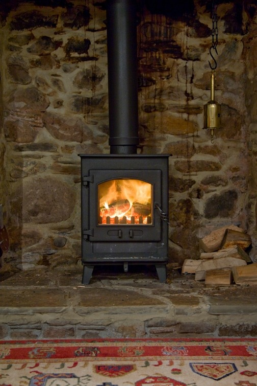 Wood stove burner