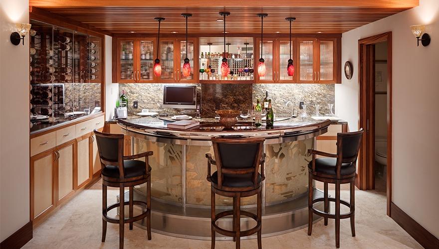 Saratoga wine cellar