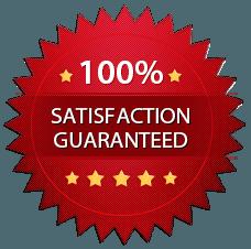100% Satisfaction guaranteed image