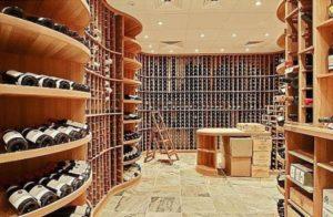 gigantic wine cellar
