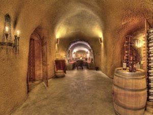 large wine cave