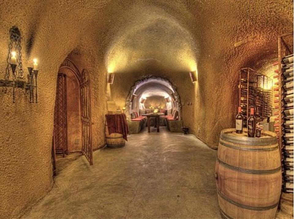 large wine cave