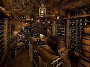 wine cellar for 2,000+ bottles