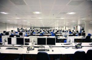 call center room