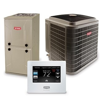 Bryant heating and cooling work great with zoning systems.