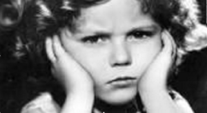 shirley temple frown